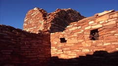 Wupatki National Monument Ruins Stock Footage