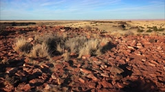 Stones From Ancient Pueblos at Wupatki National Monument Stock Footage