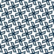 Seamless Colorful Abstract Pattern from Repetitive Trapezoids Stock Illustration