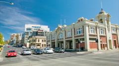 Hobart Tasmania City Hall Exterior Stock Footage