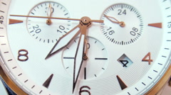 Close-up Timelapse of Clock. Time is Money Concept. Stock Footage