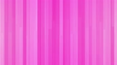 Abstract geometric block motion background modern sleek and striking loop pink Stock Footage