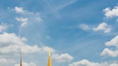 Wat Phra Si Rattana Satsadaram - stock footage