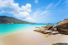 Magens Bay beach at Saint Thomas, US Virgin Islands Kuvituskuvat