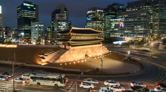 Seoul, South Korea Stock Footage
