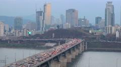 Seoul, South Korea Stock Footage