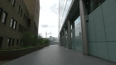 Morgan's Lane seen in a cloudy day in London - stock footage