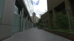 Morgan's Lane seen in the afternoon in London - stock footage