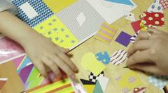 Children playing in kindergarten Stock Footage