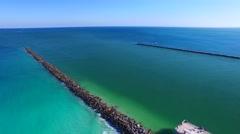 Miami Beach – Pier of South Pointe Arkistovideo