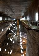 Salt Mine - stock photo