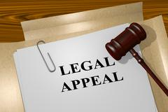 Legal Appeal concept Stock Illustration