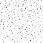 Seamless freehand drawn background uneven texture with micro dots and spots - stock illustration