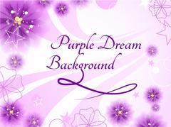 Stock Illustration of Purple Dream Background