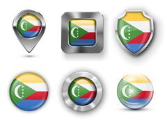 Comoros - stock illustration