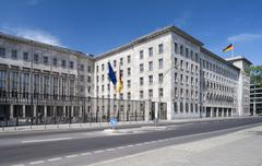 Stock Photo of Federal Ministry of Finance opened in 1936 as the Reich Aviation Ministry