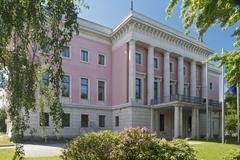 Stock Photo of Embassy of Italy built in 1941 architect Friedrich Hetzelt under Albert Speers