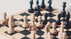 Chess Dramatic Move Stock Footage