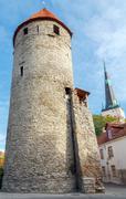 Tallinn. Estonia. Old city - stock photo