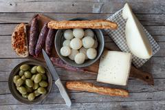 Italian Appetizers - stock photo