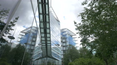 Norton Rose Fulbright LLP building in London Stock Footage