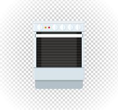 Sale of Household Appliances Gas Stove Stock Illustration