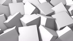 Spining Squares Stock Footage