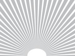 Vector background. Sun rays. Gray. Eps 10. Piirros