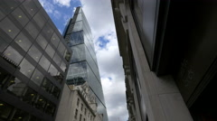 View of the Leadenhall Building in London Stock Footage