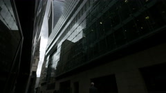 20 Fenchurch Street seen from Plantation Lane in London Stock Footage