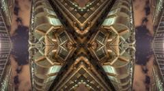 London city skyscrapers architecture abstract kaleidoscope lloyds 4k Stock Footage