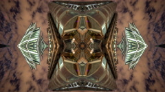 Stock Video Footage of london city skyscrapers architecture abstract kaleidoscope lloyds 4k