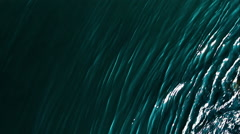 Beautiful teal water ripples - stock footage