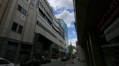 Houndsditch street in London Stock Footage
