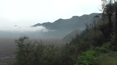 Stock Video Footage of Bromo vulcano