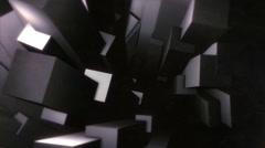 Chaotic Geometries Loops Stock Footage