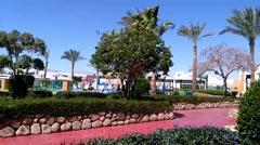 Beautiful Resort sharm el sheikh Egypt Stock Footage