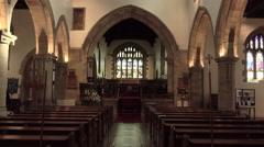 Barnard Castle England St Marys Parish Church 4K Stock Footage