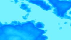 Broadcast Evolving Random Abstract Patterns, Blue, 4K Stock Footage