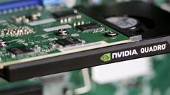 Nvidia Quadro Professional Card Stock Footage