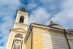 Ascension Cathedral in the Soviet street in Tver, Russia - stock photo