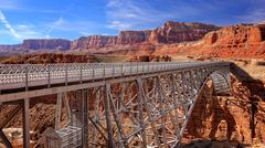 Navajo Bridge Near Page, Arizona - stock photo