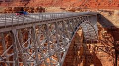 Navajo Bridge in Arizona - stock photo