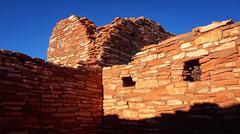 Wupatki National Monument Ruins - stock photo