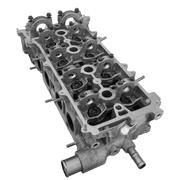 Cylinder head combustion engine Stock Photos
