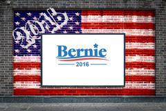 Bernie Sanders For President Stock Photos