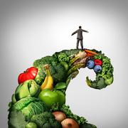 Healthy Living Movement Stock Illustration