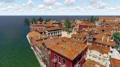Venetian landscape Stock Illustration
