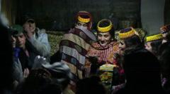 Kalash Women Singing, in Chitral, Pakistan - stock footage