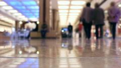 Timelapse People walking in the hypermarket Stock Footage